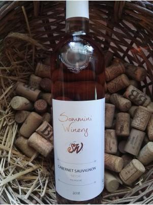 Sommini Winery Cabernet Sauvignon rosé