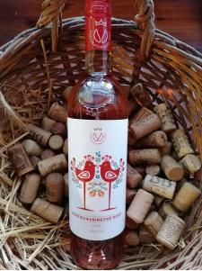 Svätokatarínske víno - Svätovavrinecké rosé Vinkor