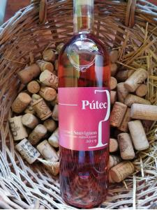 Pútec Cabernet sauvignon rosé