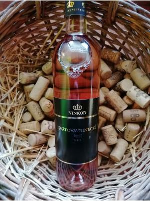 Vinkor Svätovavrinecké rosé