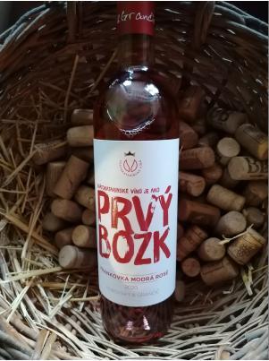 Svätokatarínske víno Frankovka modrá rosé