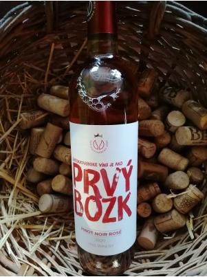 Svätokatarínske víno Pinot Noir rosé