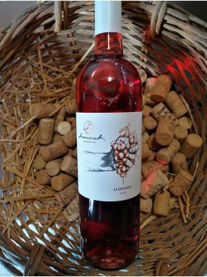 Hanúsek Alibernet rosé